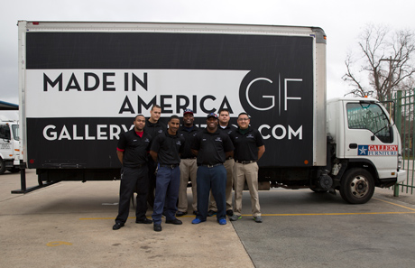 Gallery Furniture Offers Our Customers A Truck Tracker For Delivery
